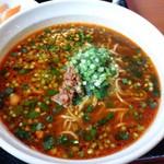 四季紅 - 黒ごま担々麺