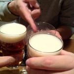 クエルクス バー - 乾杯