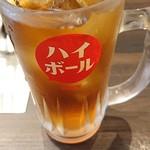 名古屋もつ焼き ひとすじ - ウーロン茶です(^-^)