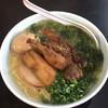 まる玉 - 料理写真:角煮あおさ煮卵ラーメン