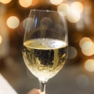 ノンアルのスパークリングワインも有ります!