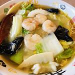レストラン三宝 - 料理写真:海鮮めん