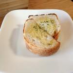 カフェ リモージュ - パスタセットのパン