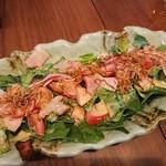 かんむり - ほうれん草のサラダ