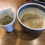 109782602 - つけ麺N スープ割