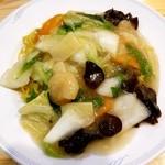 中国料理 沙流川 - 蝦仁炒麺 700円