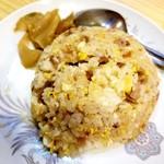 中国料理 沙流川 - セットの炒飯