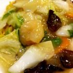 中国料理 沙流川 - 塩あんかけ