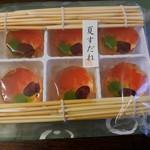 喜久月 - お干菓子「夏すだれ」