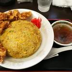 中華飯店 ワスケ - 料理写真:スーパーカレー炒飯