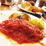 シャトードール - ハンバーグランチ (トマトソース)