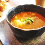 シャトードール - シチューランチ (ソーセージと野菜のミートシチュー)