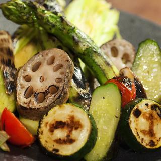 野菜が本来持つ力強い味わいを