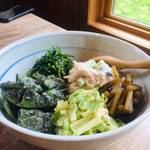 蕎麦 ふじおか - 季節の野菜料理