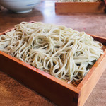 蕎麦 ふじおか - セイロ1