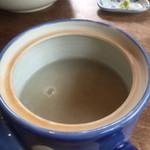 蕎麦 ふじおか - 蕎麦湯2