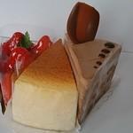 コンディトライ カッツェ - いちごのタルト・焼きチーズケーキ・ショコラデンオーバストルテ
