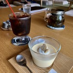 Sumi Cafe - プリン&アイスコーヒー!
