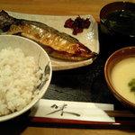 トトロ - 定食(塩鯖で)