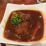 酒蔵 力 - 牛ホホ肉の赤ワイン煮880円