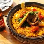 【期間限定】スペイン産イベリコ豚と夏野菜のエスニックパエージャ~PAEZO 仕立て~
