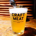 CRAFT MEAT - うしとらブルワリー 清涼飲料酔