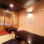 あいうえお - 【完全個室】掘りごたつ席(14名様×2部屋、最大30名様)