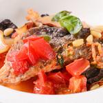 トラットリア・ソル・レヴァンテ - 料理写真:魚のリグーリア風