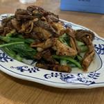 きらく - 中味青菜炒め ¥650