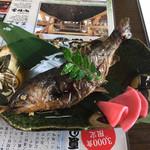 蕎麦正 - 岩魚の姿煮