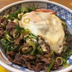 京一 - 肉玉丼 780円