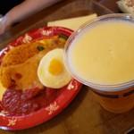 ユカタン・ベースキャンプ・グリル - チキンのオーブン焼き エッグとメキシカンライス添え&キリン一番搾り生ビール2019.6.7