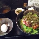 海鮮酒場ぱたぱた - 海鮮ユッケ丼定食