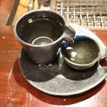 かき小屋 - 日本酒
