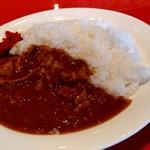 遊食彩宴 サンフラワー - 【2019.6.17(月)】カレーライス(並盛)630円のカレーライス
