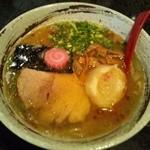 麺処 蓮海 - 和風ラーメン2塩@700円(2011.12)