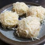 活魚料理海風 - 料理写真:いかしゅうまい(蒸し器で加熱後)