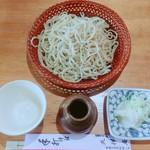 109811494 - 【せいろ:大盛】                         妹は蕎麦好きなので大盛でもペロリです。                         蕎麦ならいくらでもいけるらしい(--;)