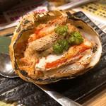 どさんこキッチンレトロなゴリラ - カニ甲羅ぶっこみ焼き