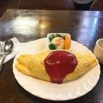 レストランナカ - オムライス  1050円
