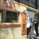 自家製さぬきうどんと肉 新橋甚三 - お店の外観