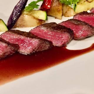 年間通して、大人気、蝦夷ジカのステーキ