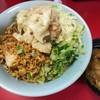 Ramenjirou - 料理写真:ネギ汁なし(麺少なめニンニクアブラ)840円