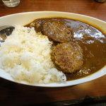 麹町咖喱 - 煮込みハンバーグビーフカレー