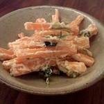 蕎麦 たじま - 人参と三つ葉の白和え