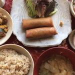 ひと粒台所 タノハナ - 料理写真:タノハナごはん