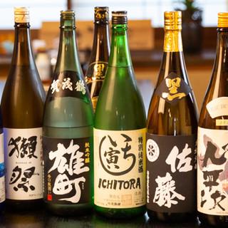 飲み放題付きお値打ちコース有!日本酒、焼酎、ハイボールも充実