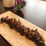 関西風 炭焼うなぎ専門店 鰻丸 - 料理写真:肝焼きは良く焼いて有り食べ易かった。