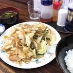 枡はん - 野菜炒め定食 ¥650