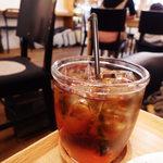 グッドニュースカフェ - ドリンクセットのジンジャーエール